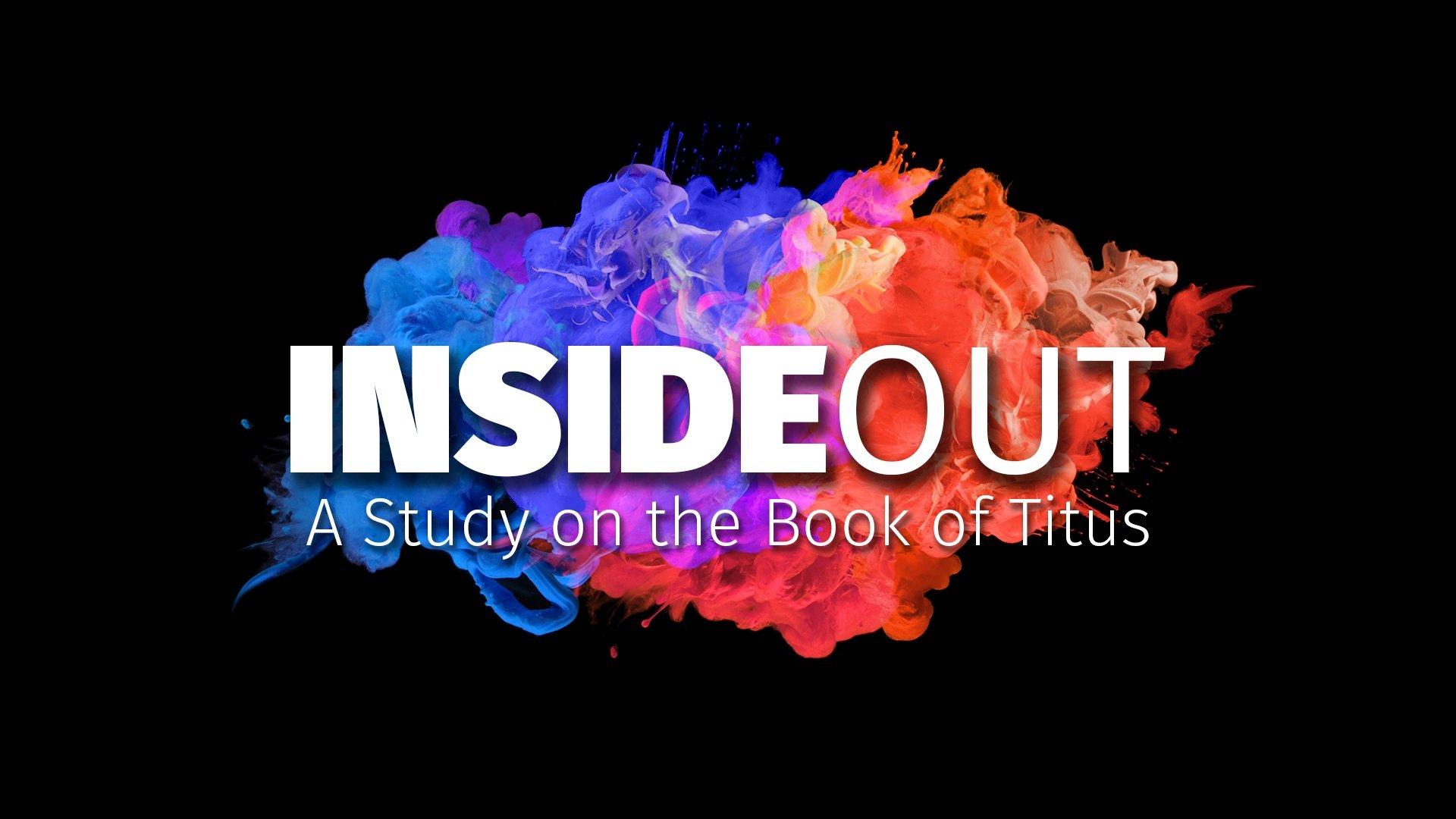 Inside out -- Week 3