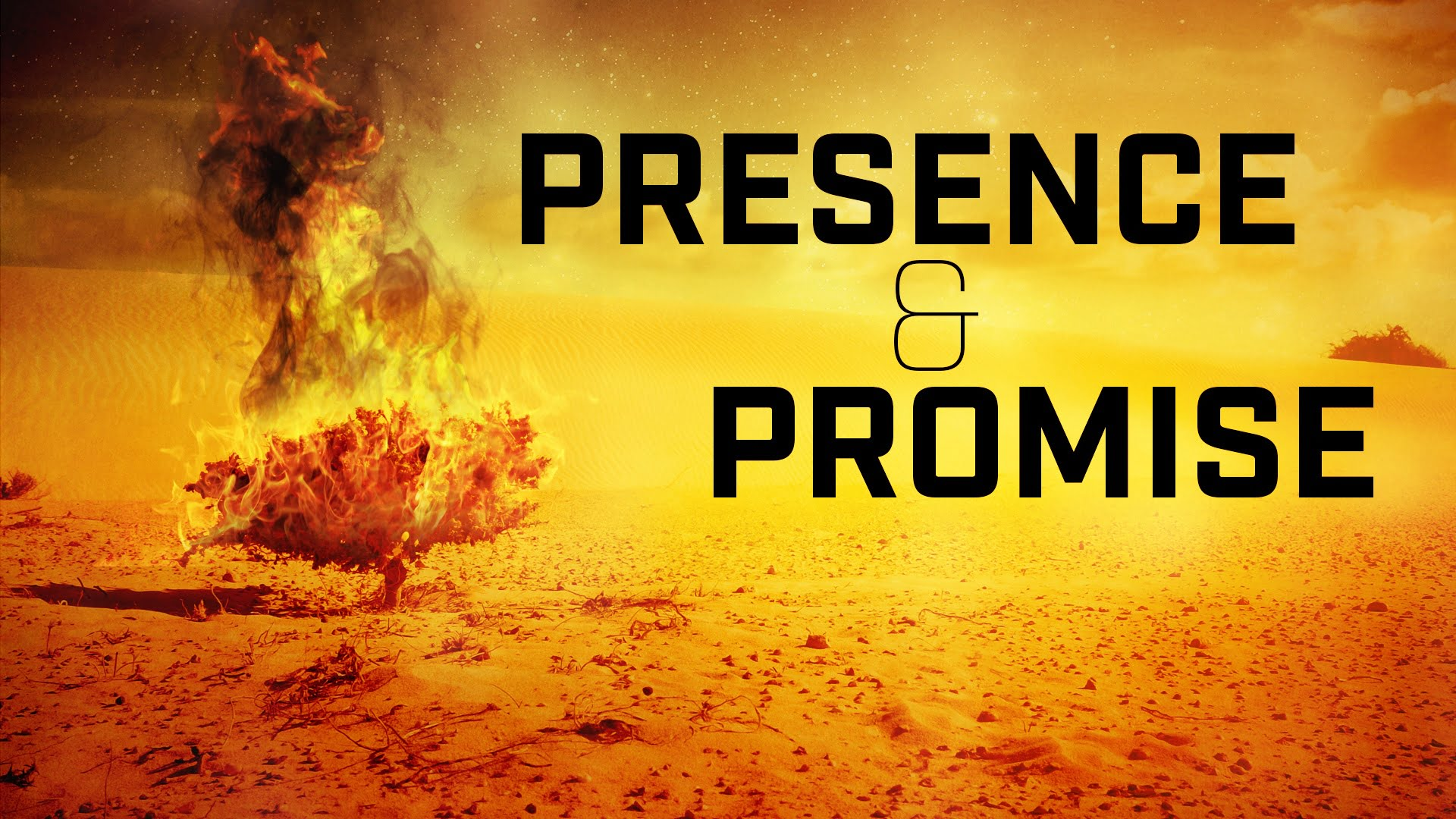 Presence and Promise -- Week 1